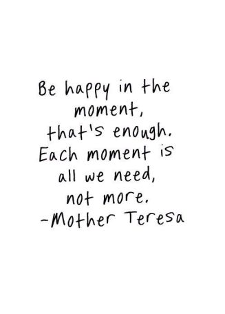Mother Teresa Be Happy