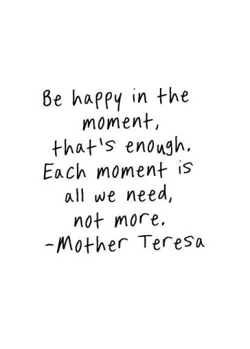 Mother Teresa Be Happy